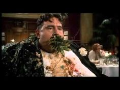 Monty Phyton - The Meaning of Life - restaurant - subtitulada ~ If you never seen this scene, this is the perfect example of projectile vomit... nasty and funny.
