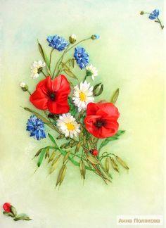 Полевых цветов букет