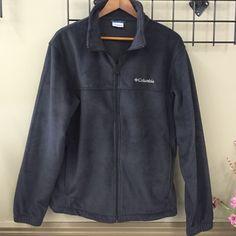 Men's Black Columbia Fleece Black zipper fleece with two zipper pockets. NWOT. Never been worn! Super soft fleece. MENS. Columbia Tops Sweatshirts & Hoodies