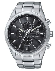 Jewellery & Accessories | Men's Watches | Men's Citizen Eco-Drive World Chronograph A-T Watch | Hudson's Bay
