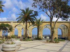 Upper Barracca Gardens, Valetta, Malta. P1120389 by matatabby, via Flickr  #malta