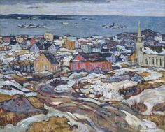 Alexander Young Jackson The Entrance to Halifax Harbour 1919