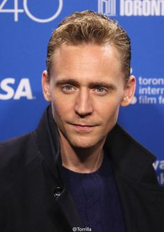 Tom Hiddleston attends the 'High-Rise' photo call during the 2015...