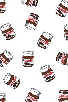 Nutella art print.