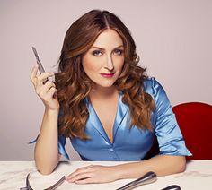 Sasha Alexander as Dr. Maura Isles-Oh my goodness. Look at those eyes!