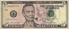 """""""American Iconomics"""": Defaced Dollars by James Charles   /   http://photovide.com/?p=174728"""