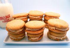Dozen Peanut Butter Sandwich Cookies from motherfudger