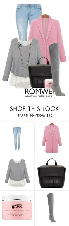 """Cute outfit"" by rikadigimon13 ❤ liked on Polyvore featuring McQ by Alexander McQueen, philosophy, Dune and Rachel Entwistle"