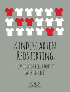 Kindergarten Redshirting: How Do Kids Feel About It Later in Life? - More parents are opting to delay their child's entry into kindergarten. Years later, how do these students and their parents feel about the decision? Kindergarten Readiness, Teaching Kindergarten, Teaching Science, Teaching Tools, Teacher Resources, Teaching Ideas, Teaching Strategies, Learning Activities, Preschool