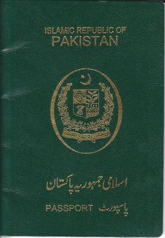 The Pakistani passport is issued to citizens of Pakistan for the purpose of international travel. The Directorate General of Immigration & Passports of the Ministry of Interior is responsible for issuing passports. Pakistan's machine-readable and biometric passports are currently being issued from regional passport offices and Pakistani embassies.