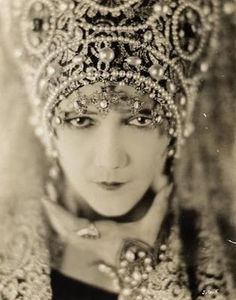 "Nita Naldi (November 13, 1894 – February 17, 1961) was an American silent film actress. She was usually cast in the role of the ""femme fatale""/""vamp.Naldi was selected for the role of Dona Sol in the film  Blood and Sand (1922). Naldi was signed by Famous Players-Lasky for the role, and it became her first pairing with screen idol Rudolph Valentino; the film was a major success, Naldi was named as a party in the divorce of 54-year-old millionaire J. Searle Barclay from his wife of 16 years."