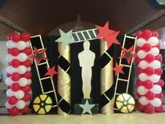 Hollywood Theme Graduation Party Backdrop