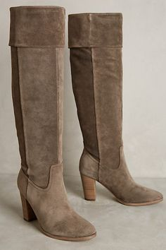 Belle by Sigerson Morrison Honey Boots #anthropologie