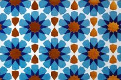 The Blue Tile Calligraphic Patterned Note Card is one in a set of five. These individually designed note cards are printed on FSC-certified paper adorned with geometric Islamic patterns.