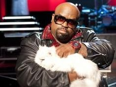 It's awesome that Cee Lo is a cat lover, even if he looks like a James Bond villain. jessiestapp