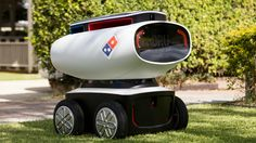 TECH: Domino's launches four-wheeler  robots to deliver pizza. Click to read more | #LittleNews #Techno #Technology #TechNews