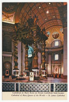 Postcards - Canada #  682 - Notre-Dame Church, Montreal