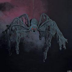 Halloween Spider Decorations, Halloween Home Decor, Outdoor Halloween, Halloween House, Scary Halloween, Halloween Themes, Vintage Halloween, Halloween Table, Halloween Crafts