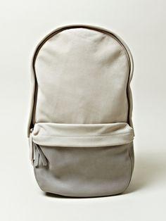 cowhide capsule backpack / haerfest