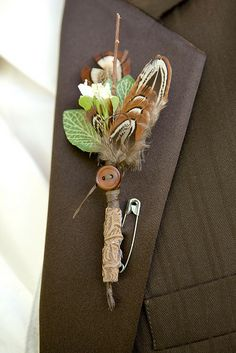groom's bout. that he made!, via Flickr.
