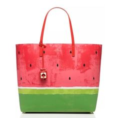 Kate Spade Watermelon Make a Splash Len Tote 2016 New With Tags  