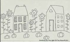 Free Doodle and Birthday Celebrations! - Primitives by the light of the moon