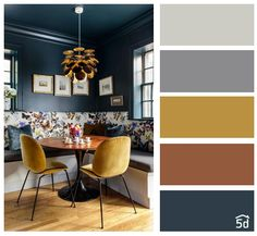 Design your dream home effortlessly and have fun. An advanced and easy-to-use home design tool - Dining Room Colour Schemes, Dining Room Colors, Paint Colors For Home, House Colors, Living Room Designs, Living Room Decor, Interior Design Software, Design Apartment, Decoration Table