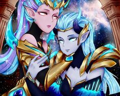 Gemini: Karina and Selena (zodiac) by jlin-nilj on DeviantArt Bang Bang, League Of Legends, Bambi, Mobiles, Moba Legends, Alucard Mobile Legends, Dark Wallpaper Iphone, Mobile Legend Wallpaper, The Legend Of Heroes