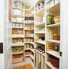 Wonderful pantry organization