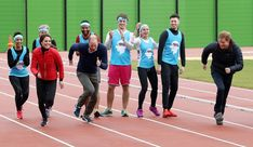 Catherine, Duchess of Cambridge, Prince William, Duke of Cambridge and Prince Harry join Team Heads Together at a London Marathon Training Day at the Queen Elizabeth Olympic Park on February 5, 2017 in London,  England.