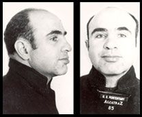 """Alphonse Gabriel """"Al"""" Capone (January 17, 1899– January 25, 1947) was an American gangster who led a Prohibition-era crime syndicate. The Chicago Outfit, which subsequently became known as the """"Capones,"""" was dedicated to smuggling and bootlegging liquor, and other illegal activities such as prostitution, in Chicago from the early 1920s to 1931."""