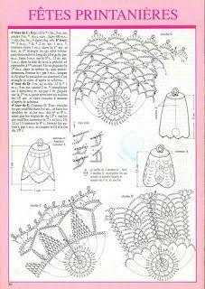 Crochet everything. Crochet Diagram, Crochet Chart, Thread Crochet, Diy Crochet, Crochet Doilies, Crochet Flowers, Crochet Christmas Ornaments, Crochet Snowflakes, Christmas Bells