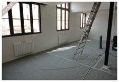 Salon avant aménagement 3D par ArchiDeco