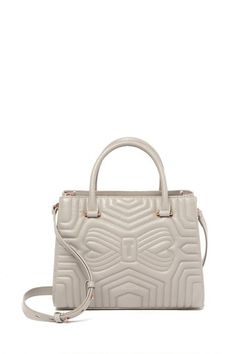 60f1ad51ab92a4 Image of Ted Baker London Vieira Quilted Bow Leather Tote Bag