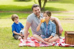 Buy Smiling father with young kids in the park by Wavebreakmedia on PhotoDune. Smiling father with young kids in the park Citrus Juicer, Youngest Child, Children, Kids, Father, Smile, Stock Photos, Park, Couple Photos