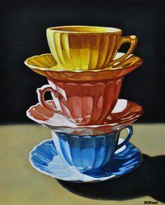 TEA FOT THREE BY MARGARET HORVAT