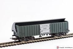 LIMA 303182 - H0 1:87 - Carro merci chiuso 4 assi con tetto basculante francese SNCF con confezione