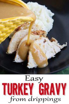 This is the best turkey gravy!!