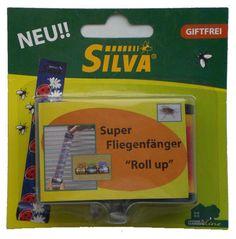 Roll Up Fliegenfänger 3er Set