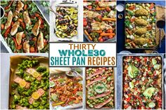 30 Whole30 Sheet Pan Recipes - The Real Food Dietitians