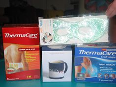 Win a ThermaCare Giveaway Prize Pack, which includes samples, a coffee mug and eye mask -- Enter here:  http://www.inspiredbysavannah.com/2013/05/thermacare-introduces-new-cold-and-heat.html -- Ends 6/7