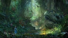 "Ark Park - VR-Erfahrung auf Basis von ""Ark Survival Evolved"" angekündigt - PS4 News"