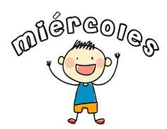 Días de la semana Teaching Spanish, Charlie Brown, Preschool, Blog, Language, Classroom, Teacher, Education, Day