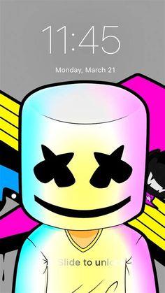 Marshmello Theme Cute Wallpaper App Lock For Android - APK