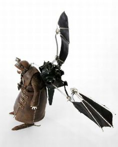 Awesome Sculptures a la Steampunk