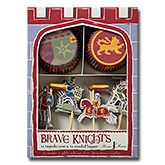 Brave Knights Cupcake Set - the easy way to make spectacular knights and jousting themed cakes.