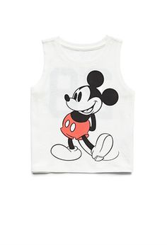 Mickey Muscle Tee (Kids) | FOREVER21 girls - 2000060050
