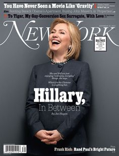 Hillary Clinton by Douglas Friedman on New York Magazine