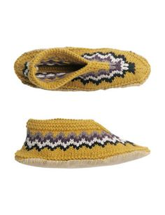 TOAST: knitted fair isle slipper