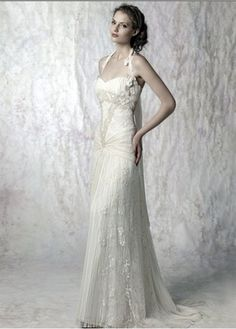 vestidos de novias con encajes José Peiro